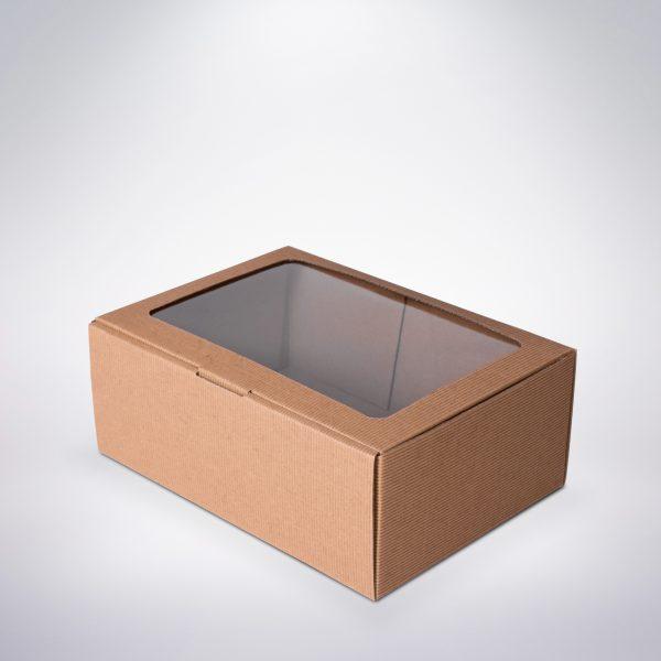 Krabička s okienkom 180x125x81