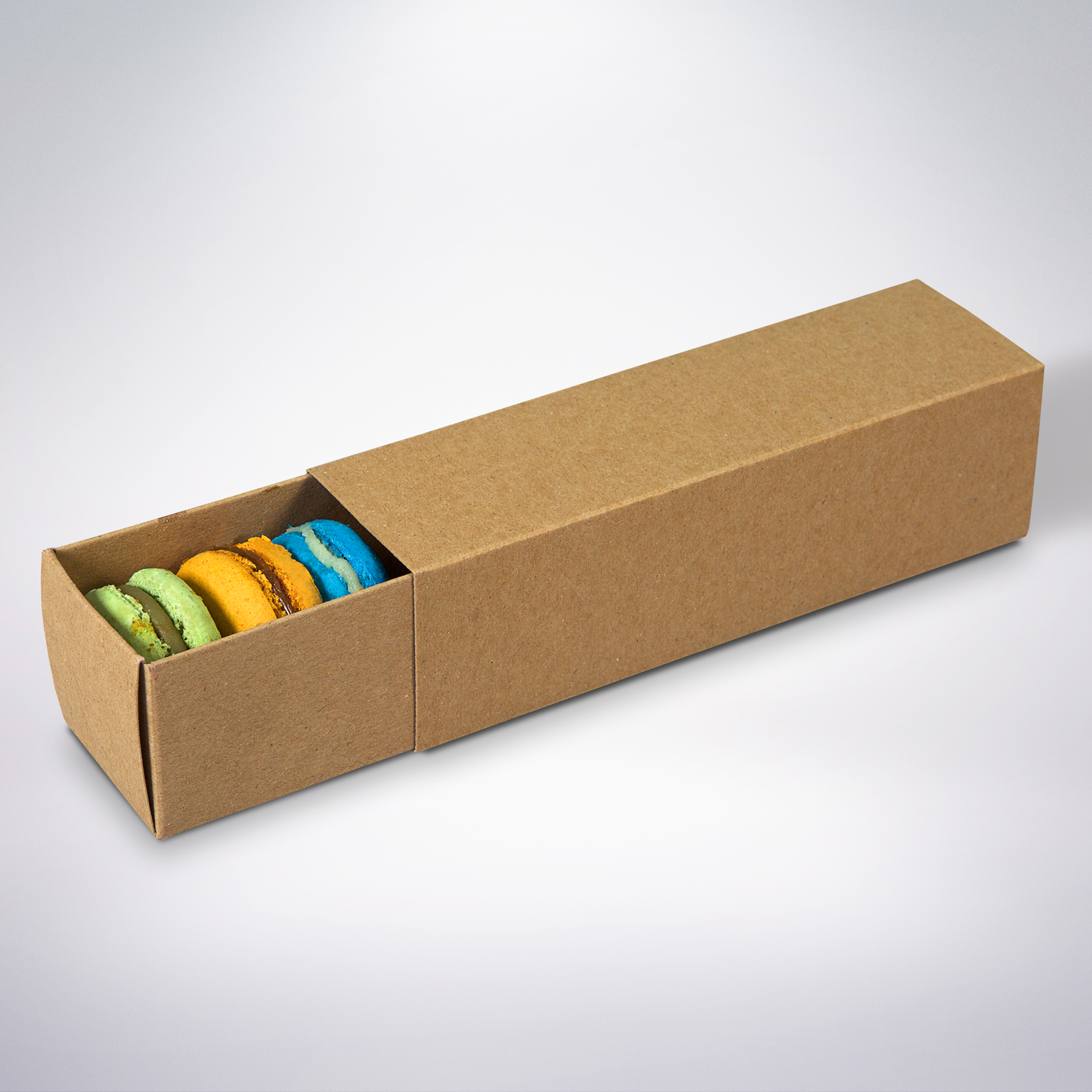Krabička na makarónky eko 160x45x45