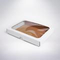 Krabička s okienkom 220x170x35 biela